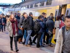 Langere reistijd tussen Rotterdam CS en Schiphol door werk aan spoor