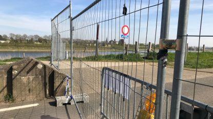 Kleine grenspost Smeermaas-Maastricht hermetisch dicht
