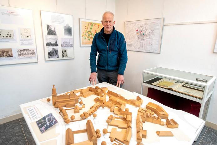 De tentoonstelling 'Nooit gebouwd Huissen'.