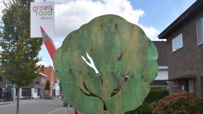 GroenRood vervangt affiches door bomen