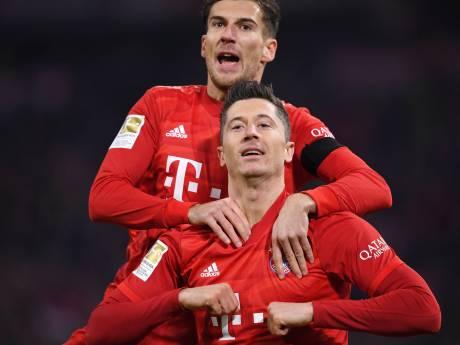 Bayern heeft Leipzig weer in het vizier na galavoorstelling tegen Schalke
