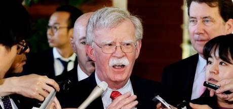 Noord-Korea boos: Bolton is een 'oorlogsmaniak' die moet opstappen