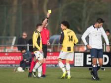 Jong Vitesse incasseert liefst zes gele kaarten en een nederlaag in Haarlem