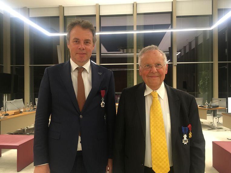 Jan Vermeulen en Geert Decaluwé.