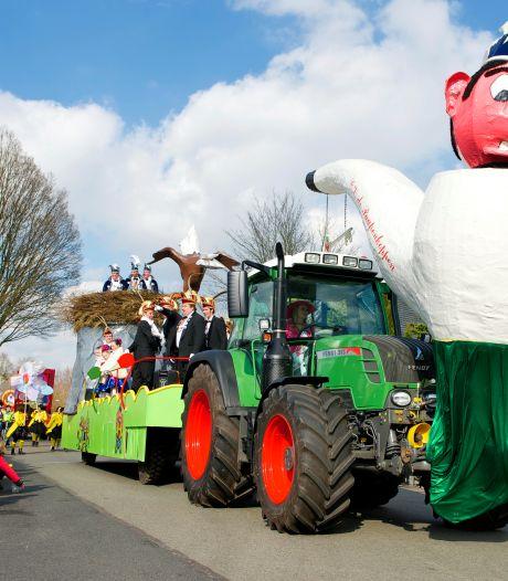Nog ruim vijf maanden tot carnaval, maar nu al streep door optocht in Achterveld