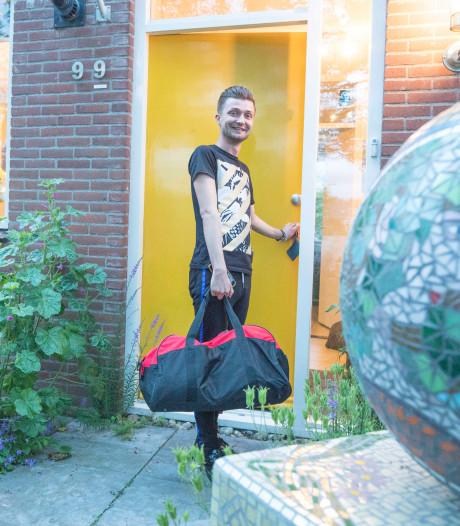Thony leeft als een moderne nomade: huisje-boompje-beestje interesseert me niets