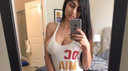 Ex-pornoster die nu eigen sportshow opluistert, heeft haar reputatie tegen wanneer ze de worstelsport beledigt