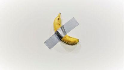 Controversieel bananenkunstwerk wordt nu ook verkocht als T-shirt