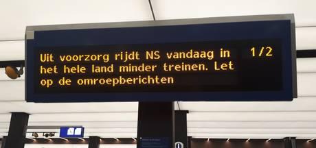 NS rijdt met aangepaste dienstregeling in verband met winterweer