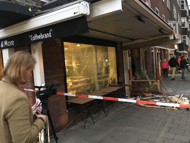 Plofkraak Haarlemmermeerstraat Beeld Ruben Koops