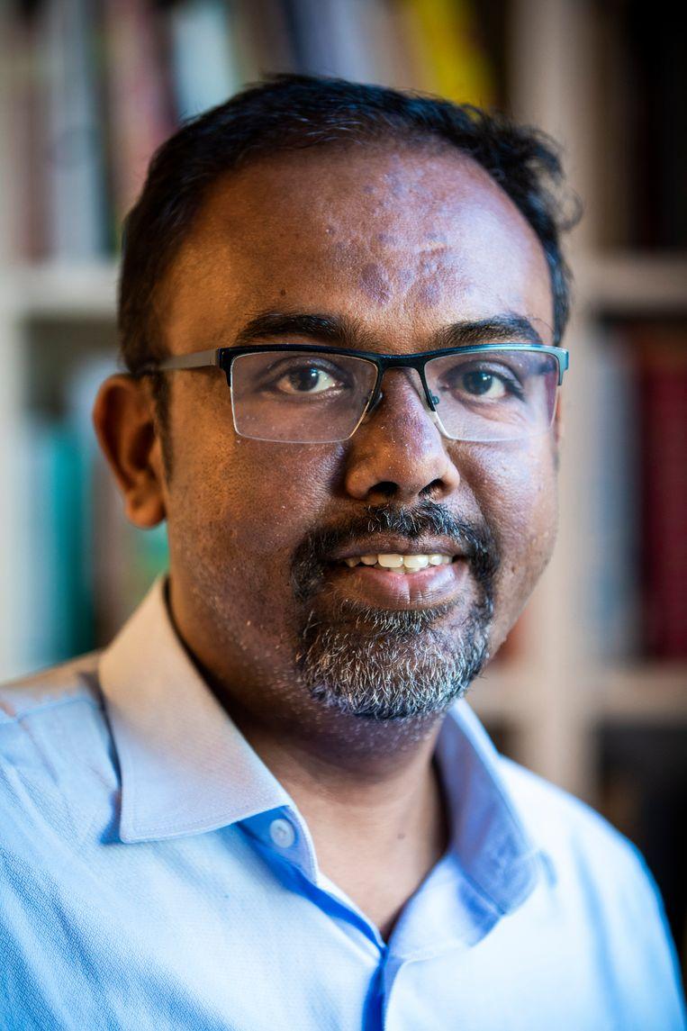 Solomon Charles uit India Beeld Freek van den Bergh / de Volkskrant