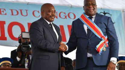 Kabila en Tshisekedi praten over vorming van regeringscoalitie bij Congolese verkiezingen