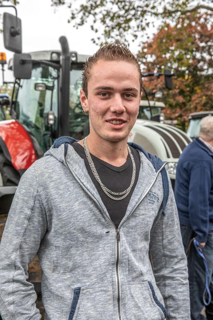 Wessel de Ruiter uit Hoonhorst