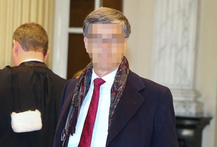 Ex-vrederechter Guido De Palmenaer in het hof van beroep van Gent.