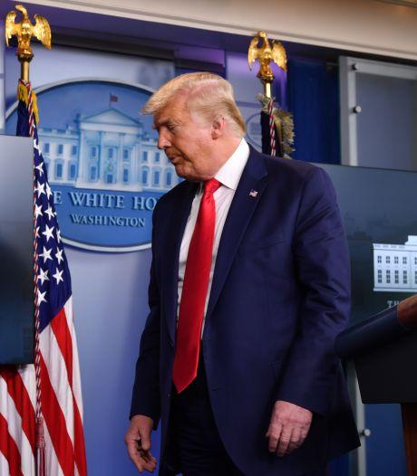 Trump naar 'erg zieke' jongere broer in ziekenhuis