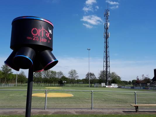 Het veld van kofbalclub Korloo, op het sportpark in Loosbroek.