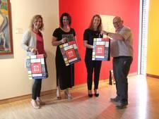 Winterswijk draagt Mondriaan uit... in een trendy papieren tas