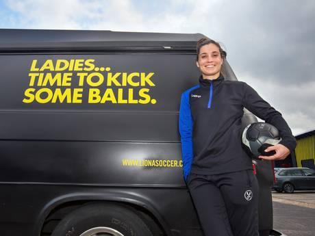 Oprichtster eerste voetbalkledingmerk voor vrouwen: nog wereld te winnen