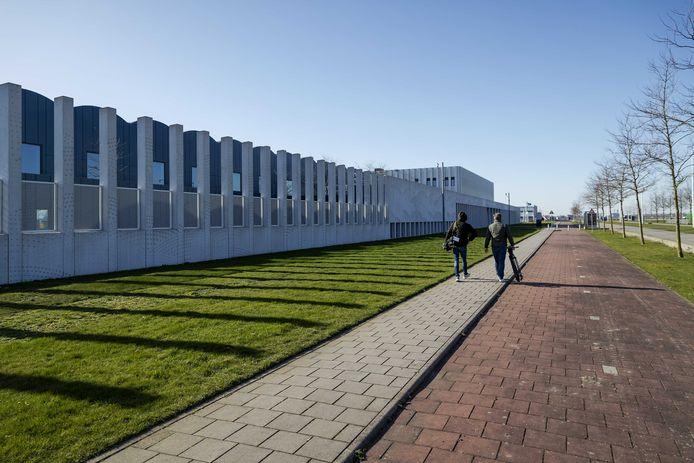 Het Justitieel Complex Schiphol.