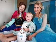 Als prinses op bezoek bij zieke kindjes: mag niet van Disney