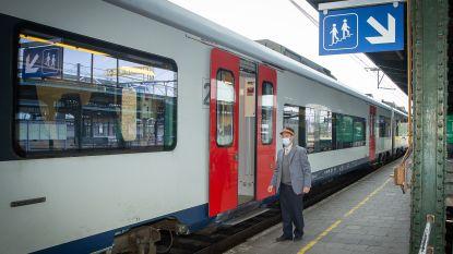 Bermbrand aan station legt treinverkeer stil