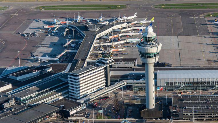 De luchthaven Schiphol. Beeld anp