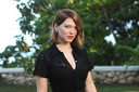 "Actor Lea Seydoux poses for a picture during a photocall for the British spy franchise's 25th film set for release next year, titled ""Bond 25"" in Oracabessa, Jamaica April 25, 2019. REUTERS/Gilbert Bellamy"