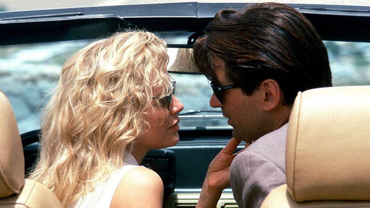 Kim Basinger en Alec Baldwin in The Getaway van Roger Dolandson. Beeld null