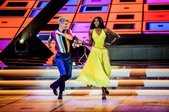 Elodie danste vanavond toch in 'Dancing With The Stars'.