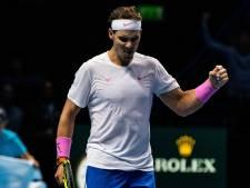 Nadal finit l'année à la première place mondiale, Goffin à la 11e