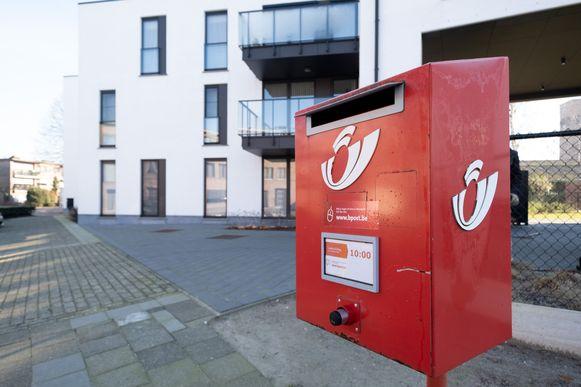 De brievenbus aan de Eeuwfeestlaan in Lier verdwijnt in de toekomst