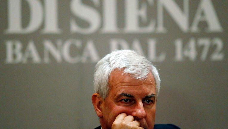 Topman Alessandro Profumo van Banca Monte dei Paschi di Siena in mei van dit jaar Beeld REUTERS