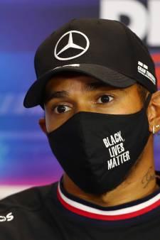 Hamilton over contract bij Mercedes: 'Ik wil eerst de wereldtitel binnenhalen'