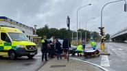 Fietser naar ziekenhuis na ongeval aan Boomsesteenweg