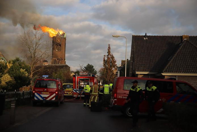 De kerktoren van Hoogmade is verdwenen