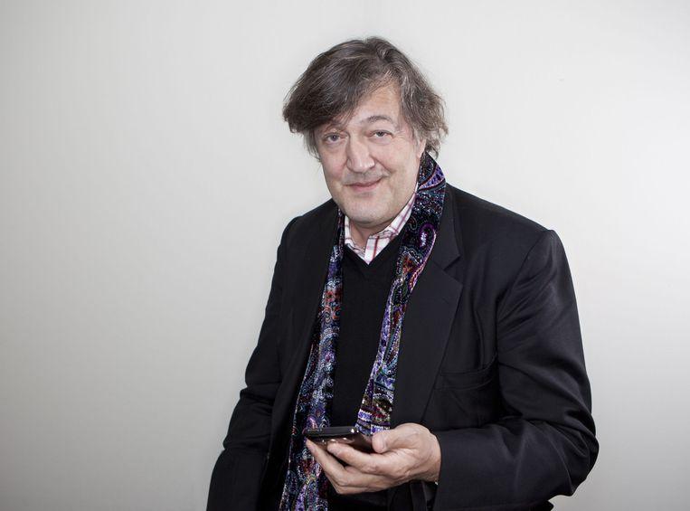 Stephen Fry Beeld null