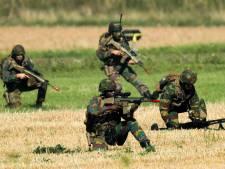 Raket Belgisch leger gaat per ongeluk af, vier militairen gewond