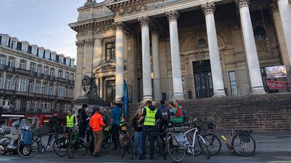Openbaar vervoer, fiets of auto? Race op spitsuur van rand naar centrum Brussel heeft duidelijke winnaar