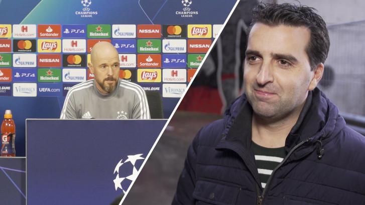 Freek Jansen blikt vooruit op cruciaal duel Ajax: 'Je kunt niet op een gelijkspel spelen'