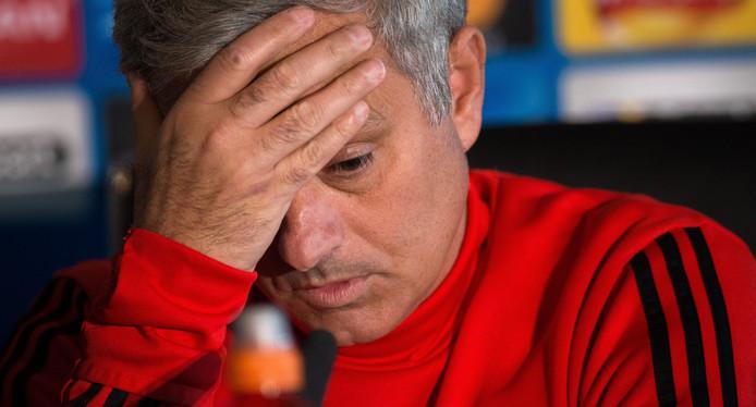 United-coach José Mourinho.