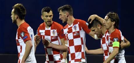 WK-finalist Kroatië met de schrik vrij tegen Azerbeidzjan