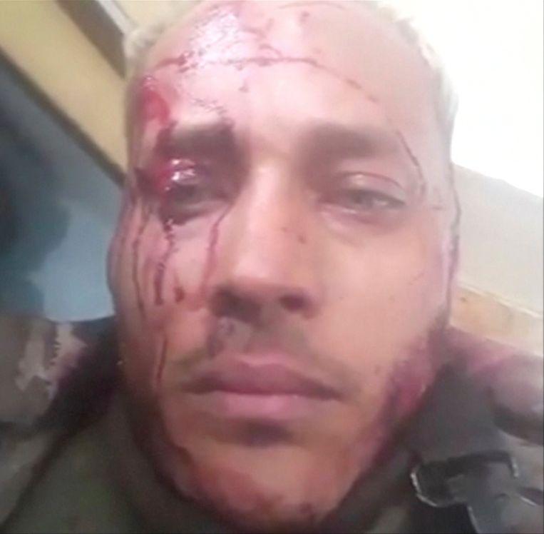 Rebellenleider Oscar Perez in een van zijn laatste videoboodschappen tijdens de schietpartij.