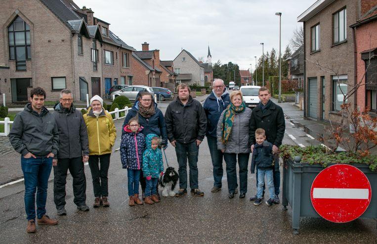In maart lieten bewoners van de Vrouweneekhoekstraat en Godsschalkstraat nog hun ongenoegen blijken.