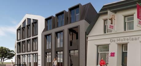 Minder appartementen boven winkels in centrum Borne