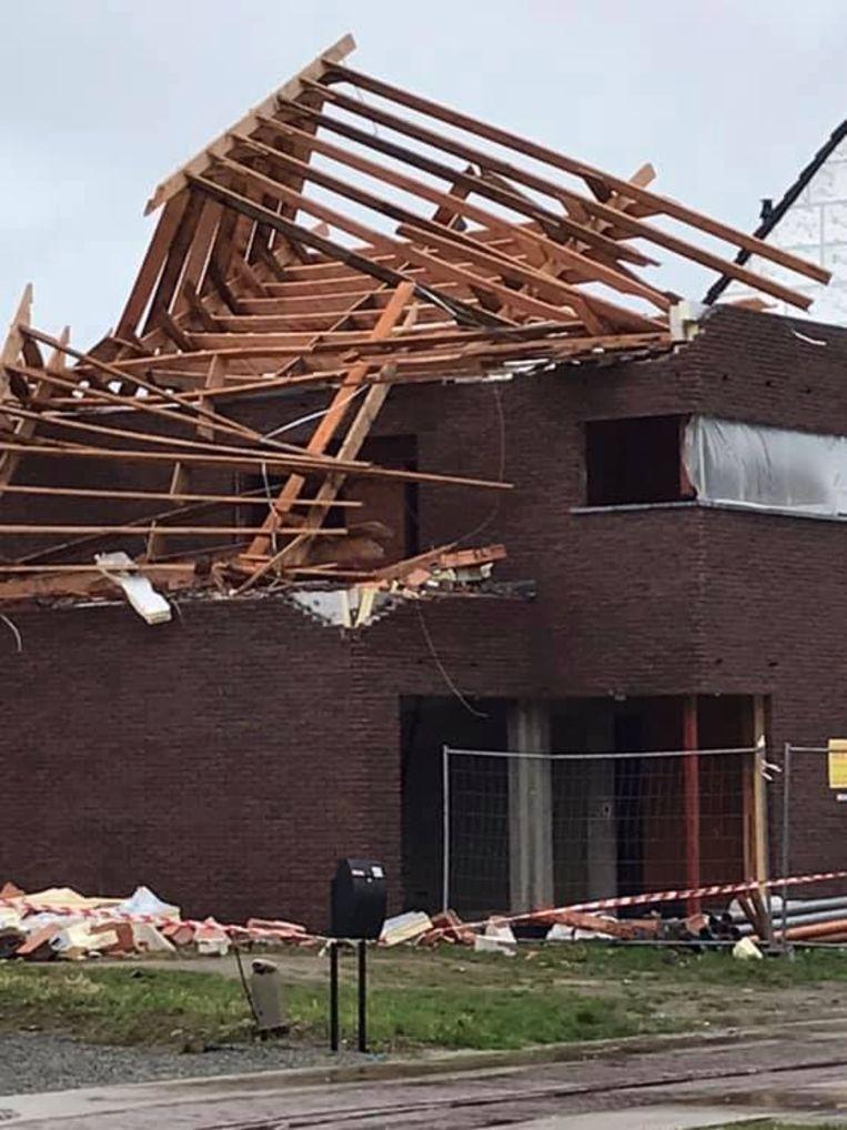 Stormschade Pruytenshof Serskamp