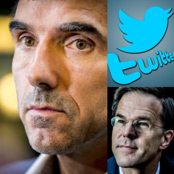 Staatssecretaris Paul Blokhuis (links) herdenkt op Twitter zijn kind en krijgt frustraties over zich heen, premier Rutte (rechts) kan niemand feliciteren of hij wordt uitgescholden.