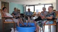 Yoghurtijsjes smullen en pootjebaden in woonzorgcentrum Haagwinde