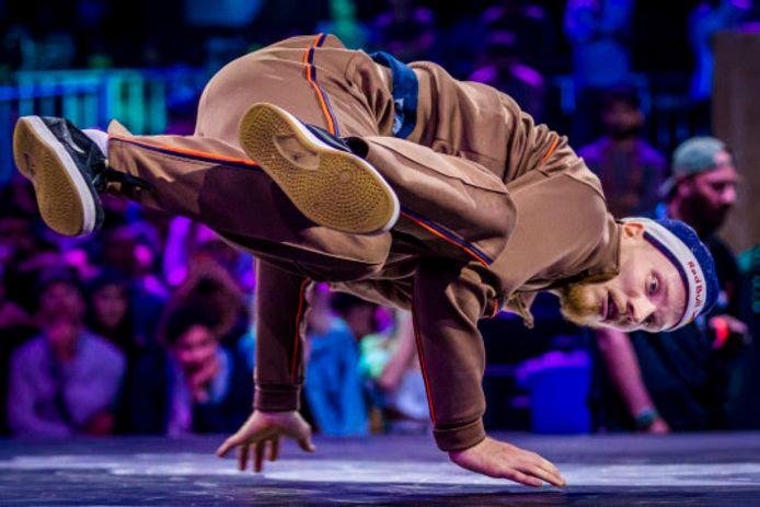 Menno van Gorp is opnieuw wereldkampioen breakdancen