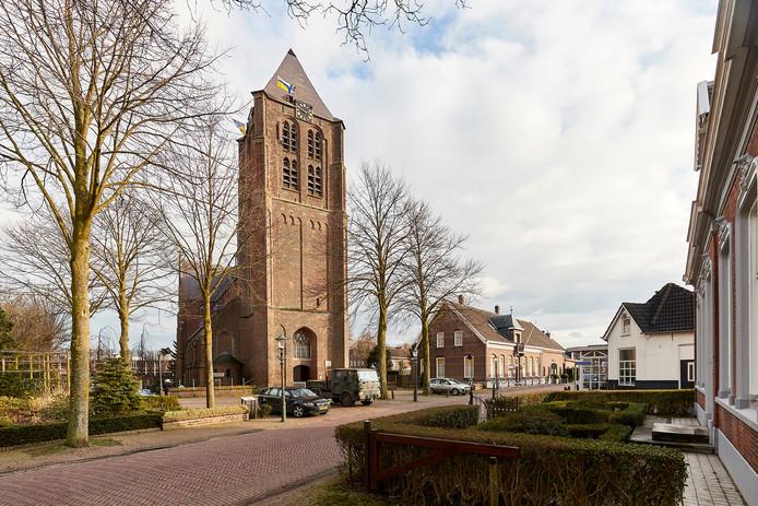 De Maria Magdalenakerk in Geffen.