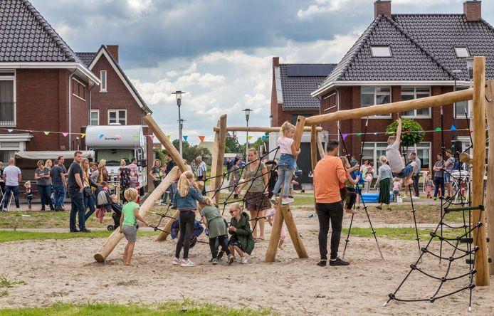 Spelletjesmiddag voor de kinderen in Kerkdriel Noord.